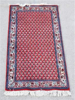 Vintage Woven Wool Iran Area Rug