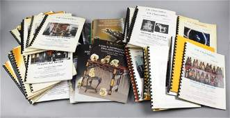 Large Collection of IM Chait Auction Catalogs