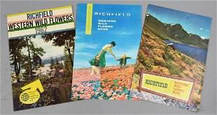1962 Richfield Dealer Wild Flower Brochures