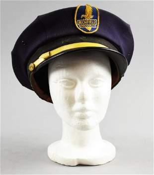 c1940 Unitog Richfield Service Station Attendant Hat