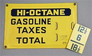 Vintage Richfield Gas Pump Price Insert
