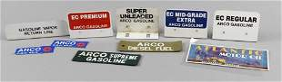 Misc Lot Vintage ARCO Gas Pump Tags