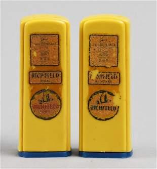 Vintage Richfield Gas Pump Salt & Pepper Shakers