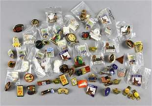 Large Lot ARCO Promotional Advertising Lapel Pins