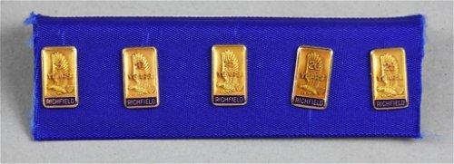 Yellow Gold Cufflinks, Tie Pins & Tie Clips