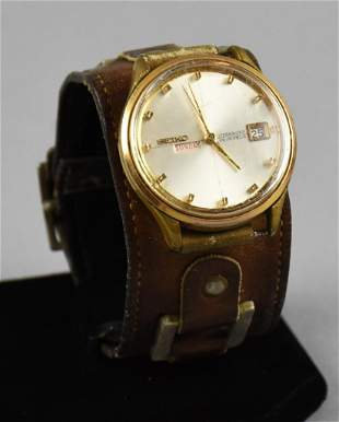 Vintage Seiko Men's Weekdater 26J Auto Quartz Watch
