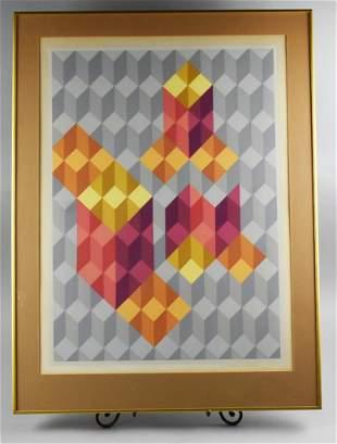 """Chester Solomont Ltd Ed 16/18 """"Cubic Extensions"""""""