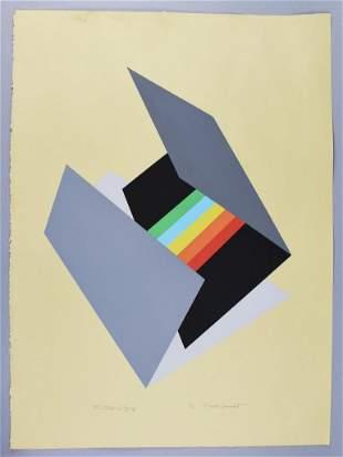 "Chester Solomont Ltd Ed 7/20 ""Contrast in Greys"""