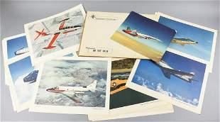 Vintage North American Aviation US Military Photos