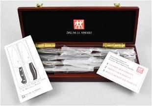 Zwilling J.A. Henckels Knife Set, Original Box