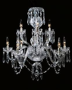 Waterford Cranmore 9 Arm Crystal Chandelier