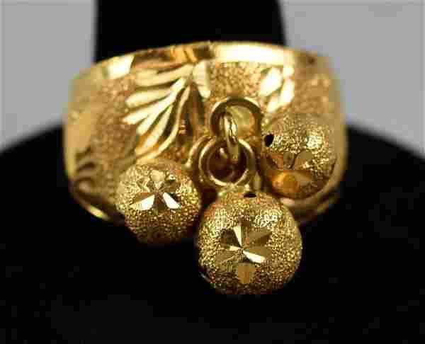 Beautiful 21k Yellow Gold Ring