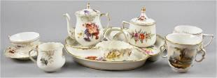 Antique Porcelain Tea Set Plus, Dresden, Thieme & More