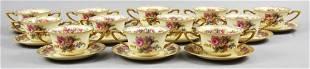 Vintage Rosenthal Porcelain Bouillon Cups, Vienna