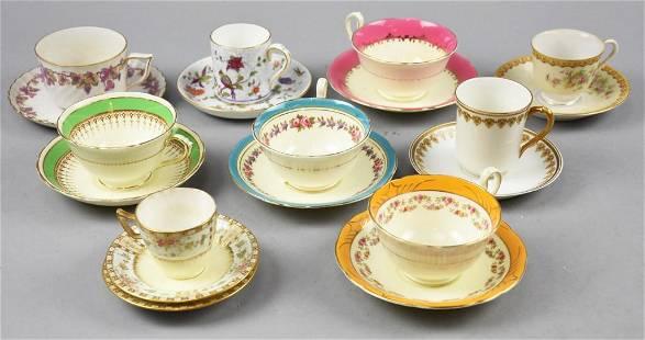 Vintage Cup & Saucer Sets, Limoges, English & More