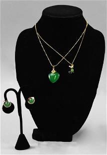 Vintage Misc Jade Jewelry