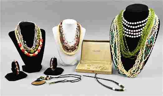 Large Lot, Vintage Costume Jewelry MCM