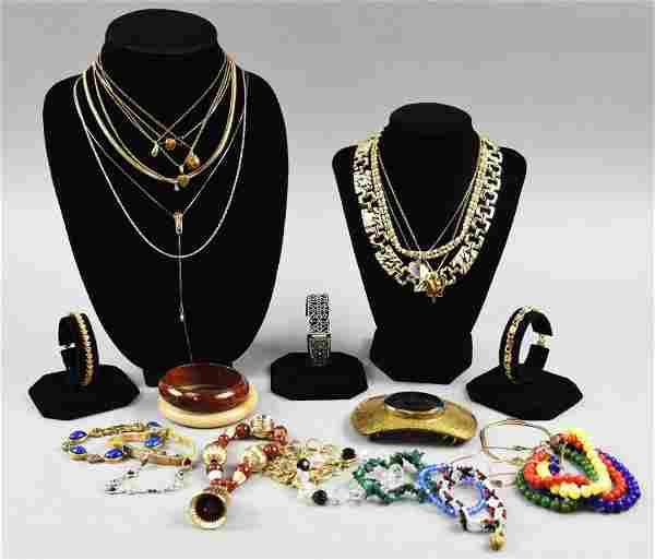 Large Lot Misc Vintage Costume Jewelry MCM
