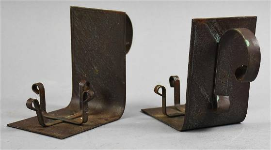 Arts & Crafts Wrought Iron Votive Candle Holders