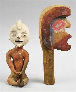 Vintage Unusual Ethnographic Collector Pieces