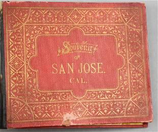 Rare c18850C.P. Heininger Souvenir of San Jose, Cal
