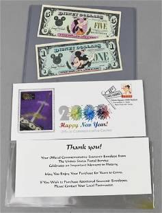 1989-1991 Disney Dollars, Millennium First Day