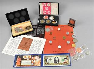 Misc US & Foreign Coins, Tokens and Medal