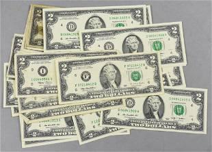 (31) $2 Bills