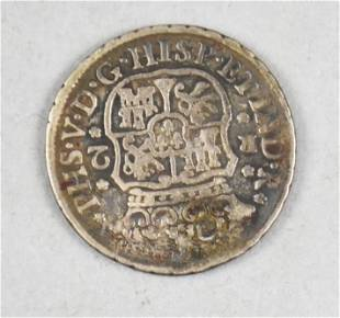 1744 Mexico/Spanish Colonial Silver Reales