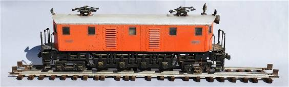 Large Scale Electric Locomotive Car w/Track