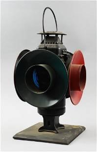 Vintage Adlake Non Sweating P.E. Ry Lantern