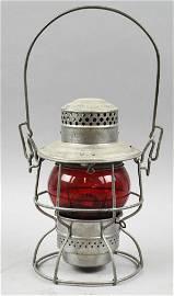 c1920 Adlake D&RGW Railroad Lantern