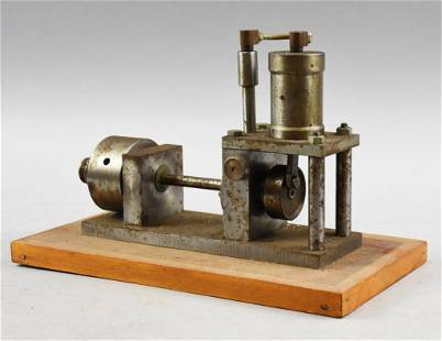 Prototype Steam Engine from Randall Gentzler