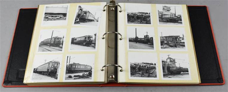 Vintage Binder, Packed Locomotive & More Photo Album