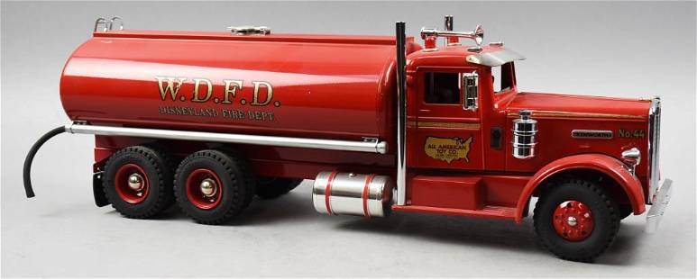RARE All American Toy Kenworth Disneyland Fire Tanker