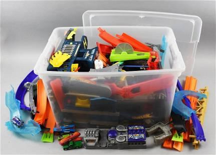 Full Plastic Bin Hot Wheels, Matchbox & More