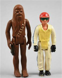 1976 -77 Star Wars and Dare Devil Action Figures