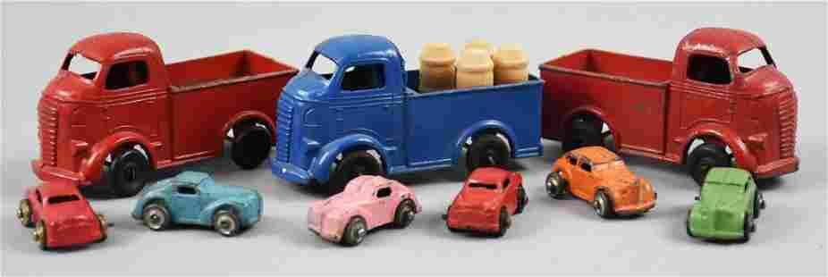 Vintage Barclay Milk Trucks & Miniature Cars