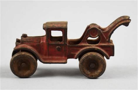 c1930 Arcade Mfg Co Cast Iron Tow Truck