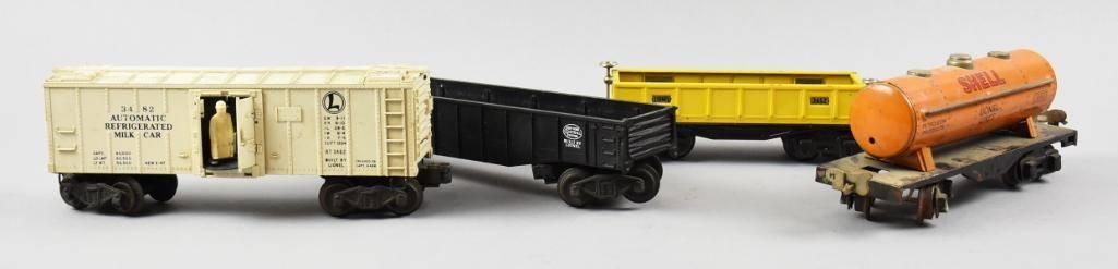 Vintage O Gauge Lionel Train Cars