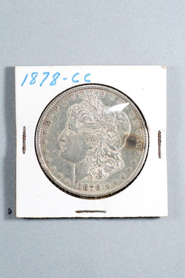 1878 Carson City Morgan Silver Dollar
