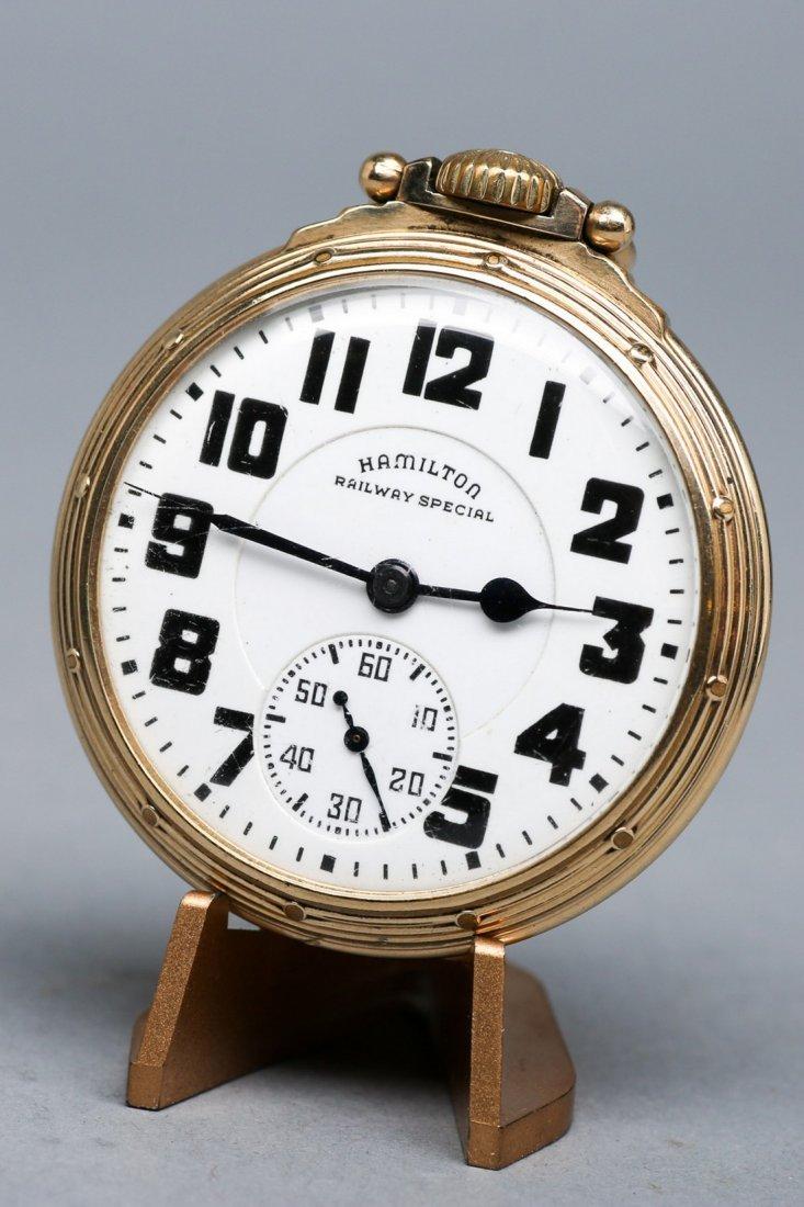 Hamilton Railway Special Pocket Watch 23 Jewel