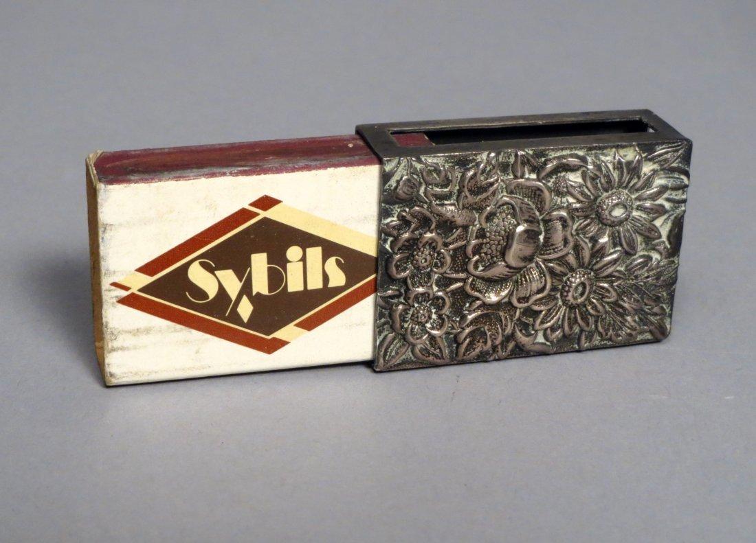 S. Kirk & Sons Sterling Silver Match Box Match Safe - 5