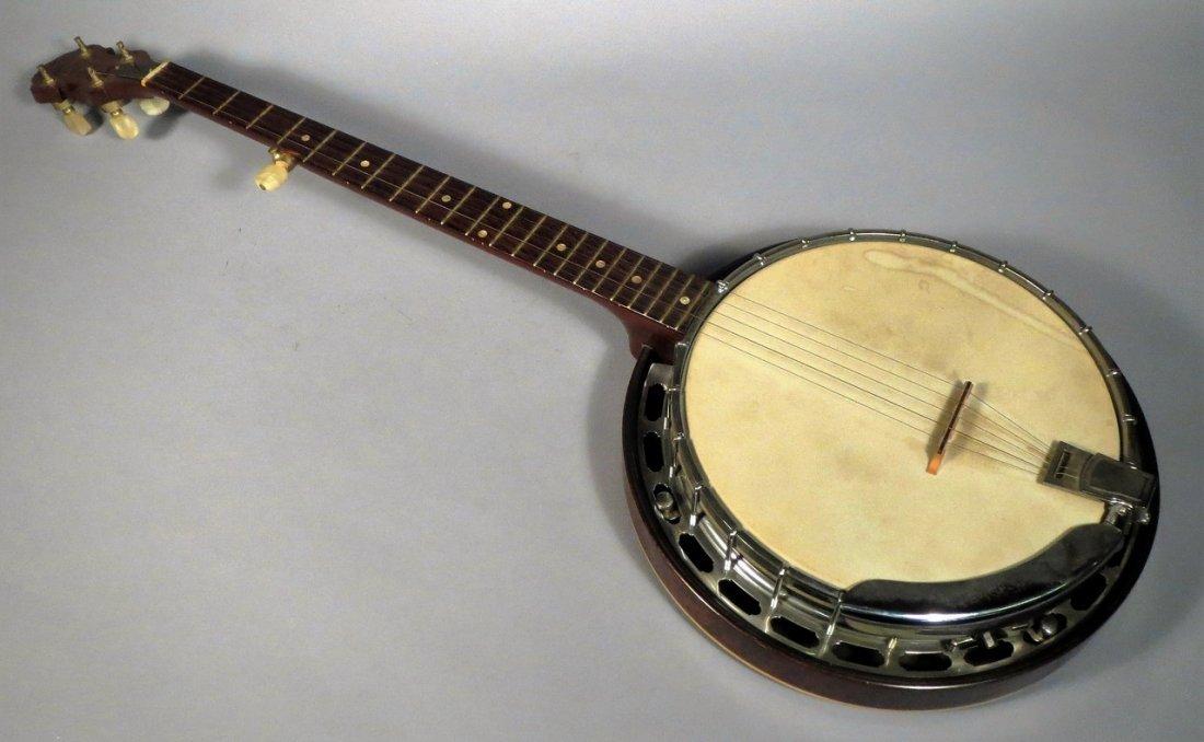 Beautiful 1969 Gibson 5 String Resonator Banjo