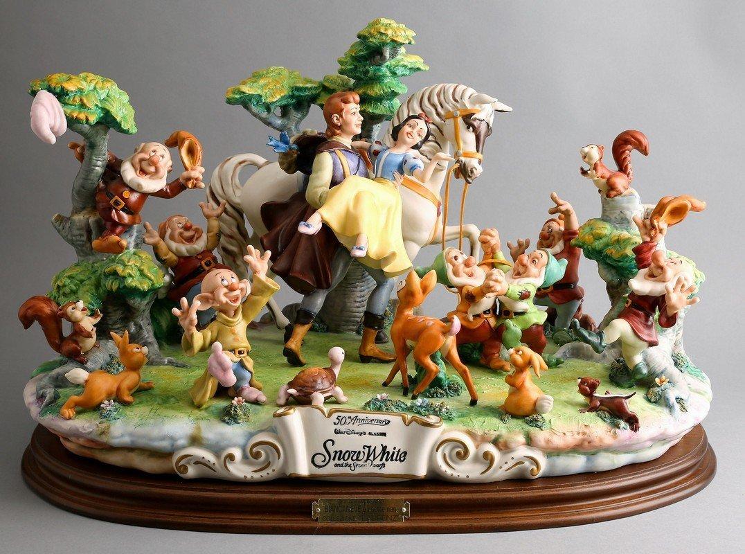 Capodimonte & Disney's 50th Anniversary of Snow White