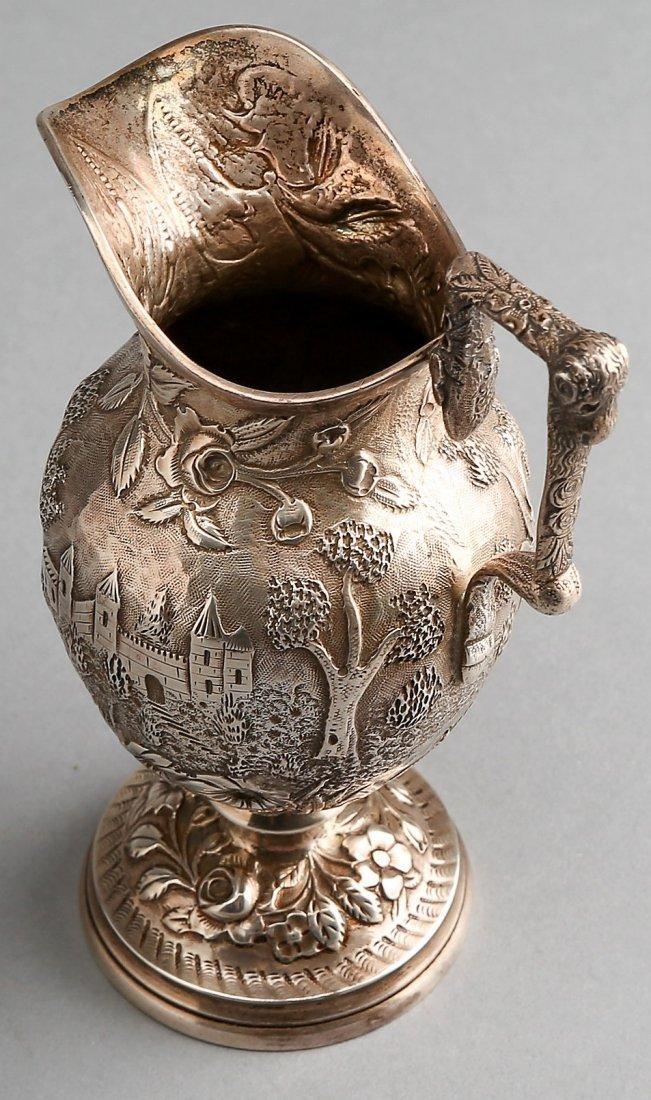 Fabulous A.G. Schultz Baltimore Sterling Tea Set - 10