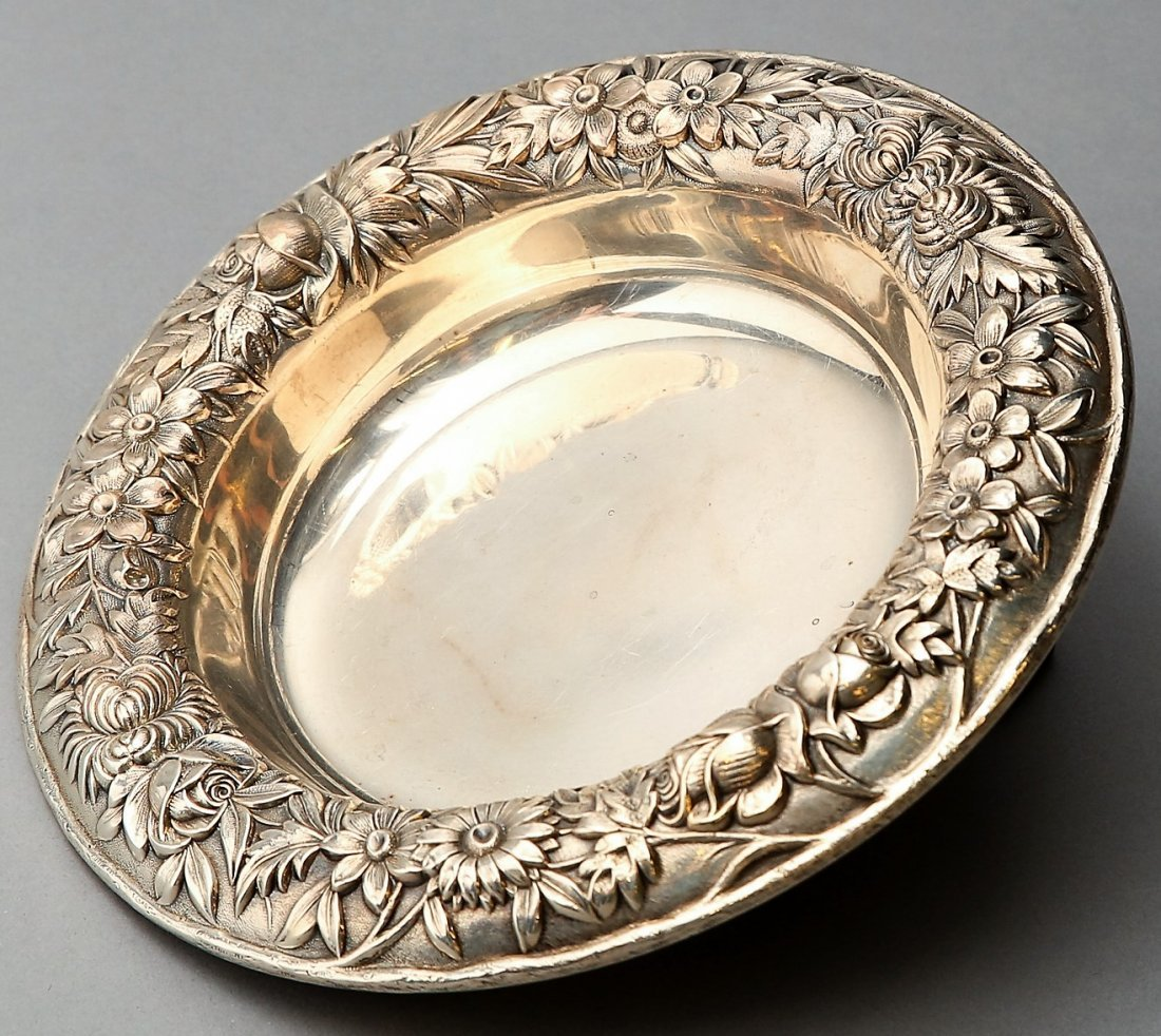 American Sterling Kirk & Son Repousse Bowl