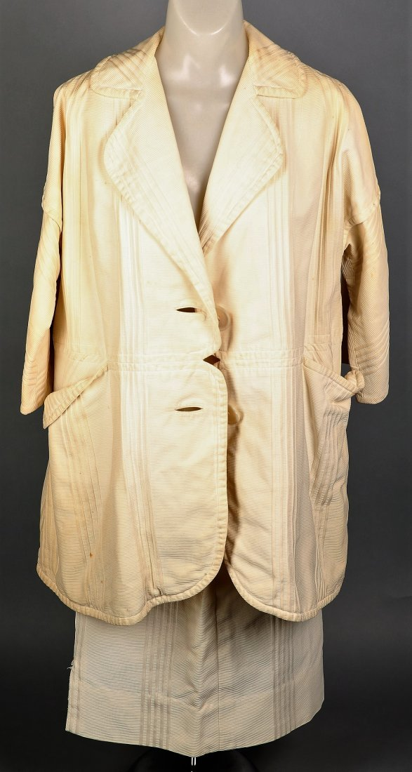 c1965 Rudi Gernreich Cream 2 Pc Ladies' Suit