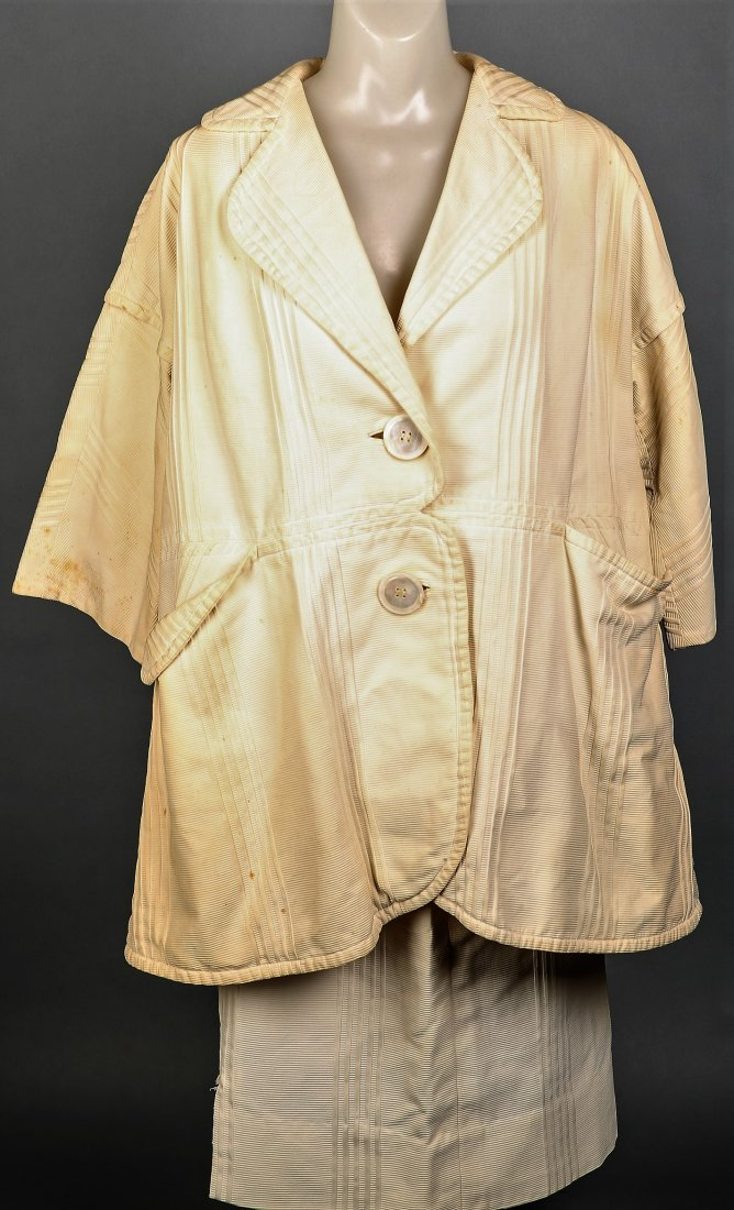 c1965 Rudi Gernreich Cream 2 Pc Ladies' Suit - 2