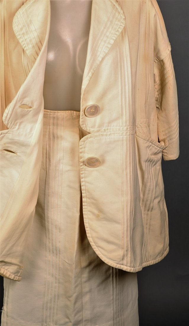 c1965 Rudi Gernreich Cream 2 Pc Ladies' Suit - 3
